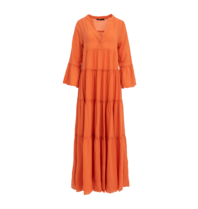 Devotion Devotion maxi Ella dress orange