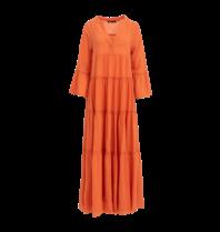 Devotion Devotion maxi Ella jurk oranje