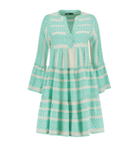 Devotion Devotion Ella dress with print mint white