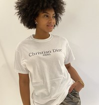 FALLON Amsterdam FALLON Amsterdam Christian Dior T-shirt wit