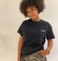 FALLON Amsterdam FALLON Amsterdam Dior T-shirt zwart
