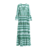 Devotion Devotion Maxi afroditi zakar jurk groen mint
