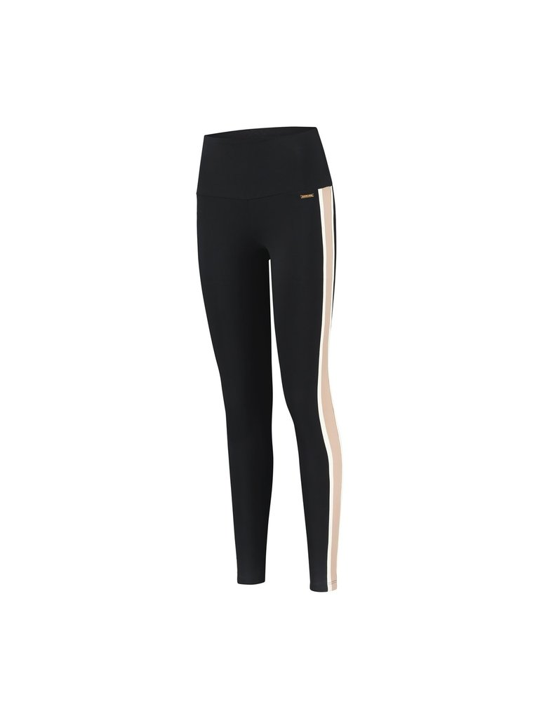 deblon sports Deblon Sports Kate sports leggings black off-white sand