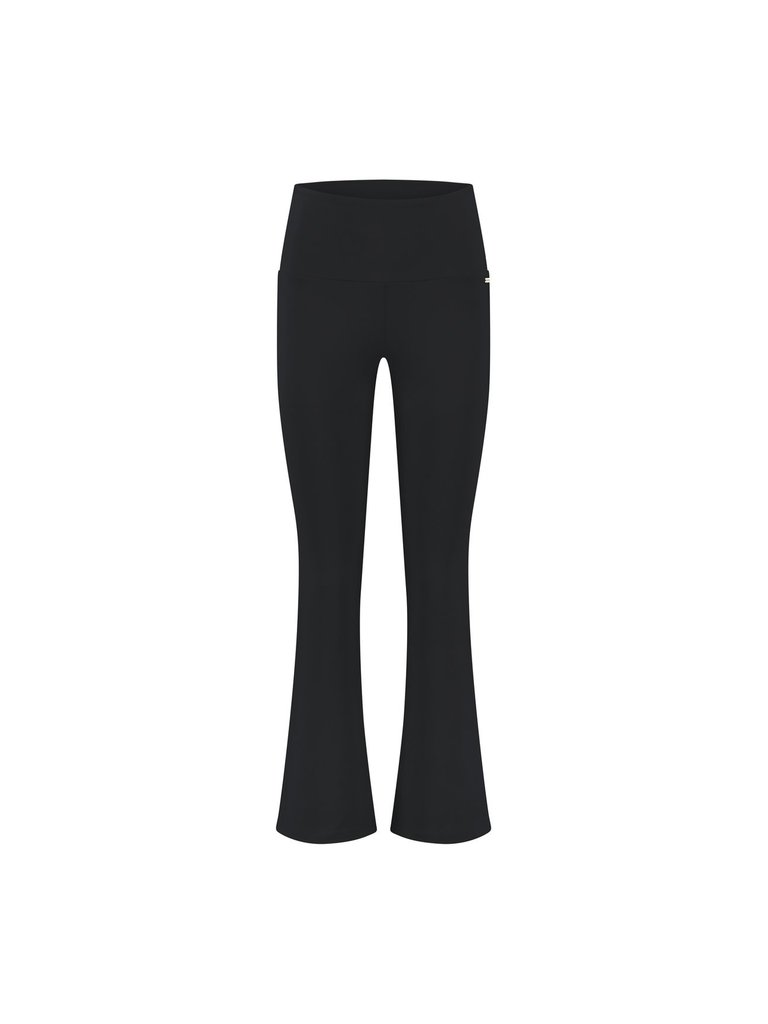 deblon sports Deblon Sports Flare sports leggings cropped black