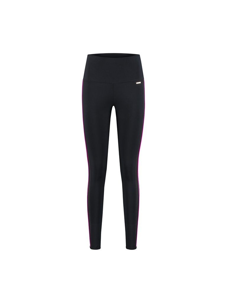 deblon sports Deblon Sports Kate trägt Leggings in schwarz-rosa Glanz