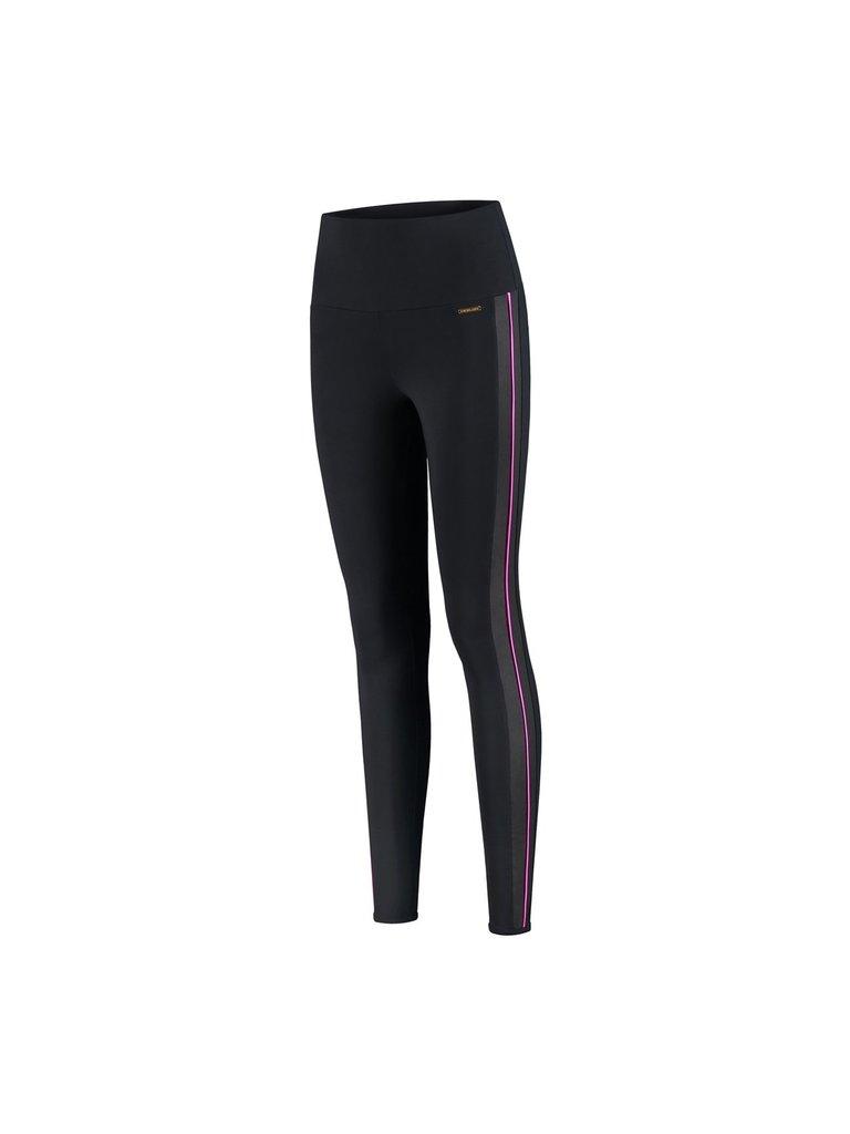 deblon sports Deblon Sports Kate sportlegging zwart roze shine