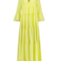 Devotion Devotion maxi Ella dress lime