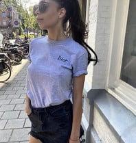 FALLON Amsterdam FALLON Amsterdam Dior T-Shirt grau