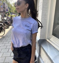FALLON Amsterdam FALLON Amsterdam Dior T-shirt gray