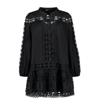 Devotion Devotion Christina kanten jurk zwart