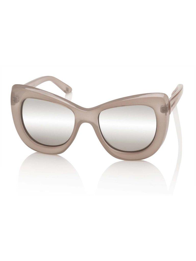 Le Specs Luxe Le Specs Luxe Queenie zonnebril beige