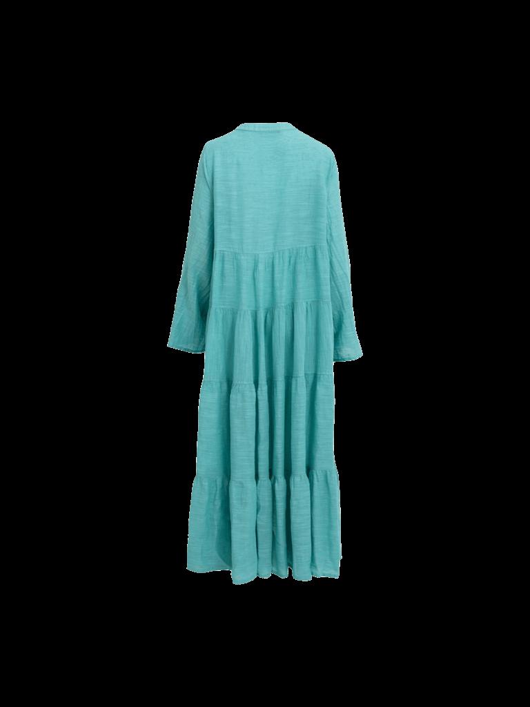 Devotion Devotion maxi Ismini jurk blauw
