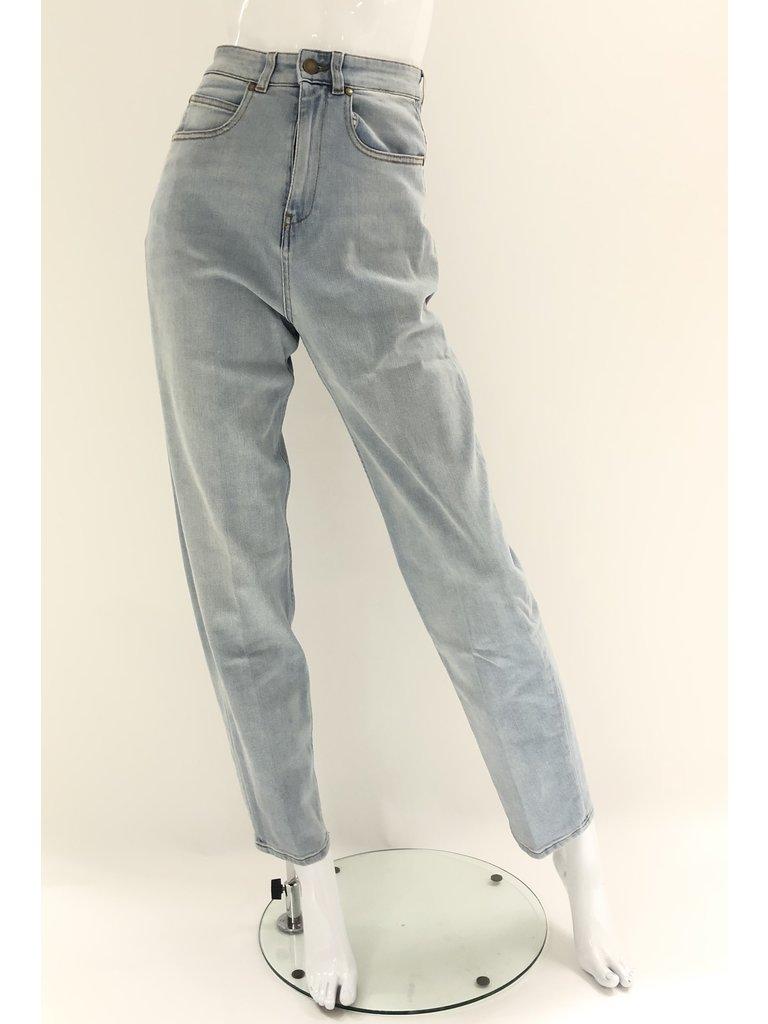 Erika Cavallini Erika Cavallini loose denim jeans blue