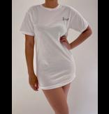FALLON Amsterdam FALLON Amsterdam Dior T-shirt jurk wit