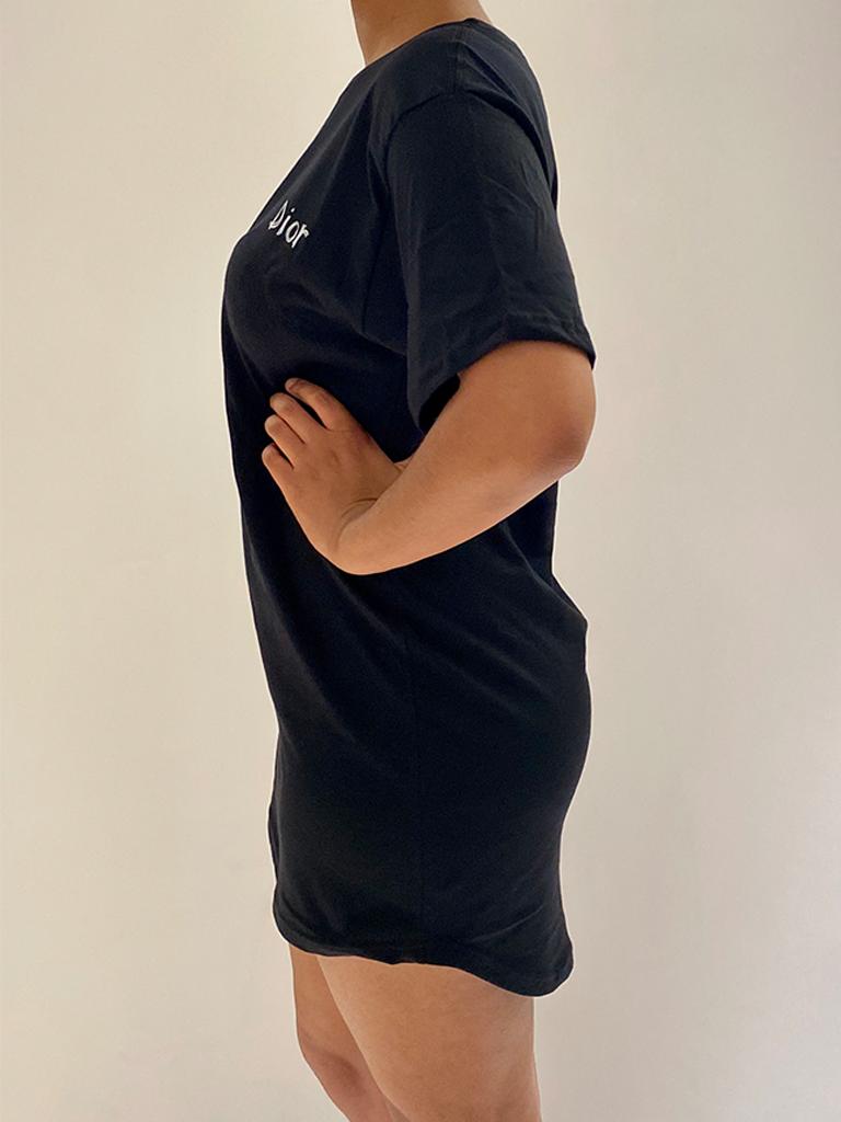 FALLON Amsterdam FALLON Amsterdam Dior T-Shirt Kleid schwarz