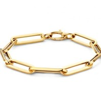 Just Franky Nur Franky Charm Armband Gelbgold