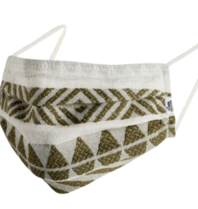 Devotion Devotion Ella mouth mask khaki white