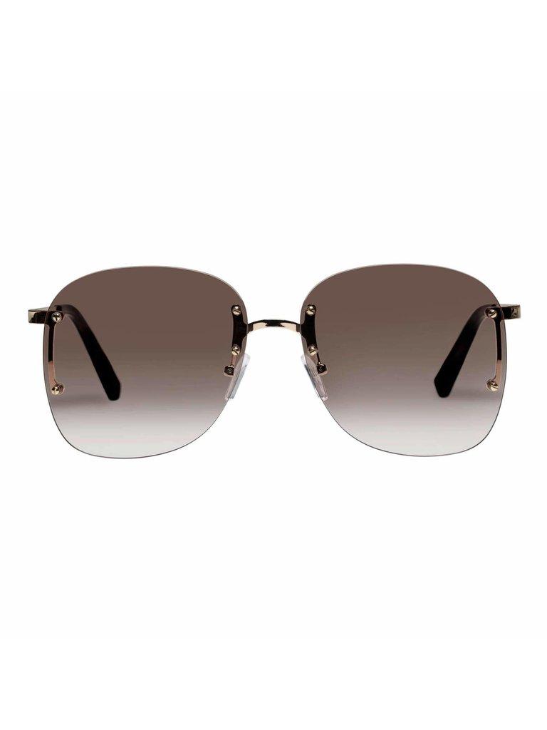 Le Specs Le Specs Skyline Sonnenbrille Gold