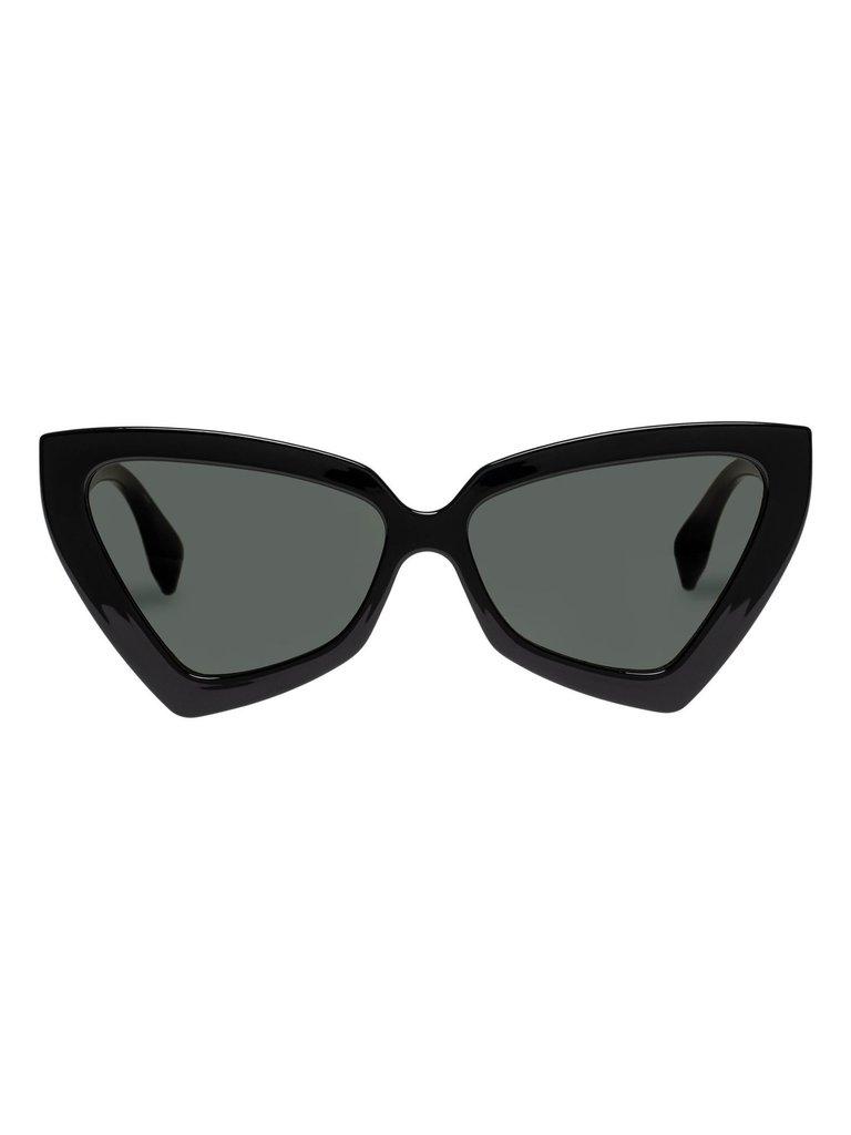 Le Specs Le Specs Rinky Dinky zonnebril zwart