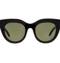 Le Specs Le Specs Air heart zonnebril zwart
