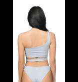 La Sisters LA Sisters Off-shoulder Tie Bikini grijs