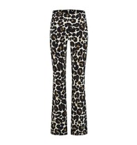 deblon sports Deblon Sports cropped flared sportlegging leopard