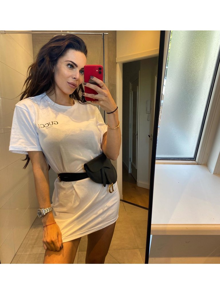 FALLON Amsterdam FALLON Amsterdam Gucci T-shirt dress white