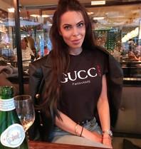 FALLON Amsterdam FALLON Amsterdam Gucci T-shirt zwart