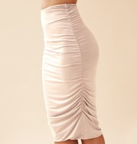 Body by Olcay Body By Olcay Gathered skirt stone