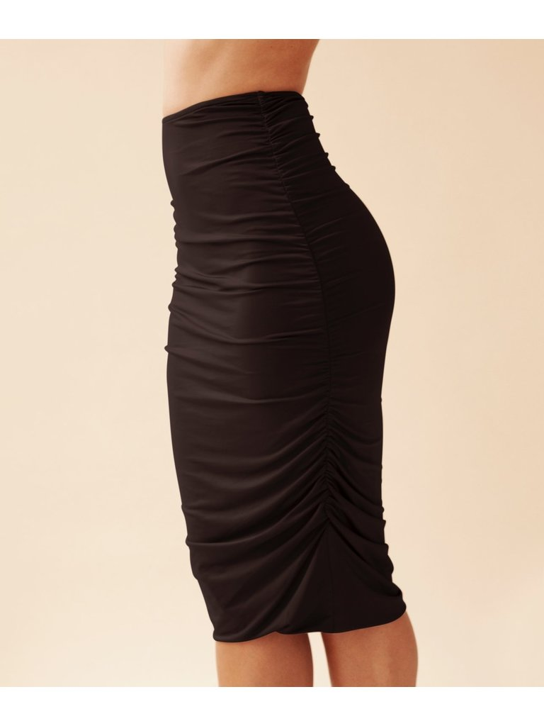 Body by Olcay Body By Olcay Gathered skirt black