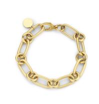 Souvenirs de Pomme Souvenirs de Pomme Lima small chain bracelet gold
