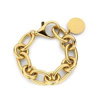 Souvenirs de Pomme Souvenirs de Pomme Lima medium chain bracelet gold