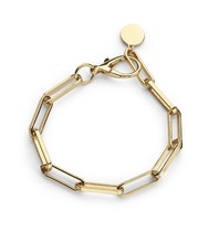 Souvenirs de Pomme Souvenirs de Pomme Link chain small bracelet gold