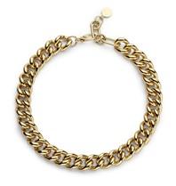 Souvenirs de Pomme Souvenirs de Pomme Gourmet chain small necklace gold