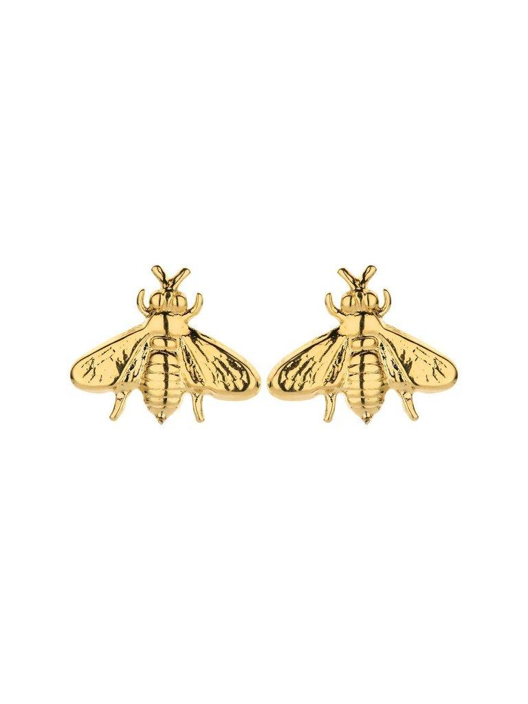 Souvenirs de Pomme Souvenirs de Pomme Bee Shortie Ohrringe Gold