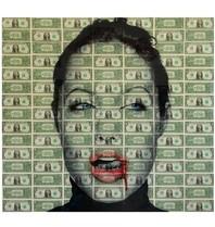 Van Apple Art Van Apple Art Angelina Jolie Kiss Kiss kunstwerk