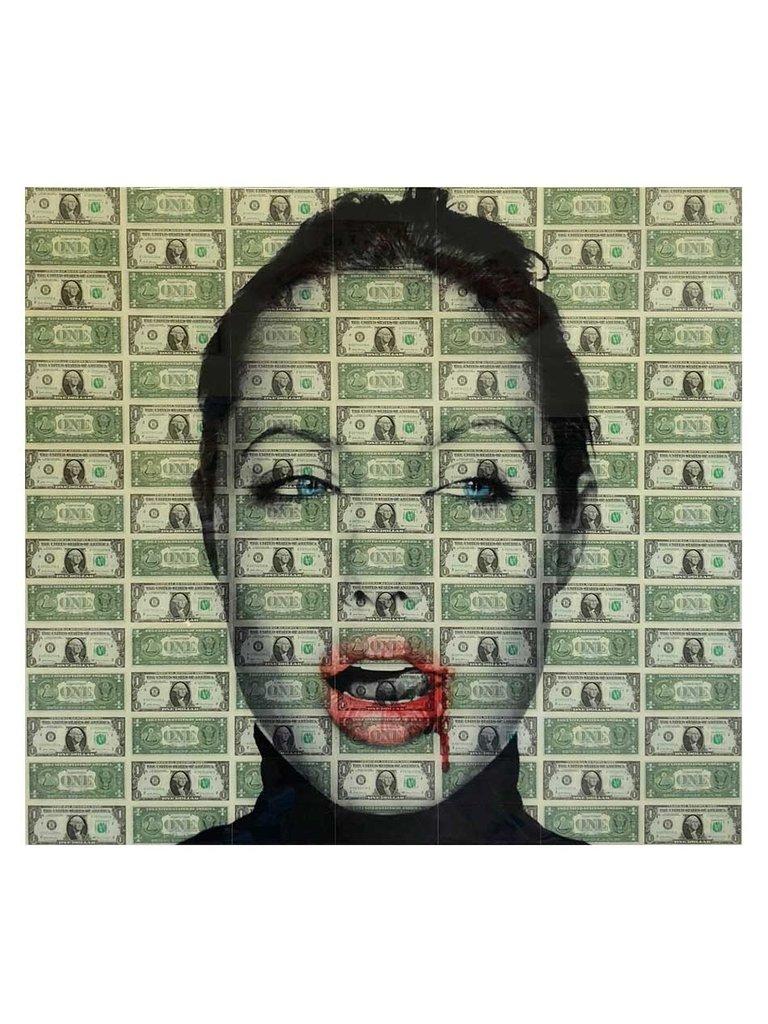 Van Apple Art Angelina Jolie Kiss Kiss Artwork von Apple Art