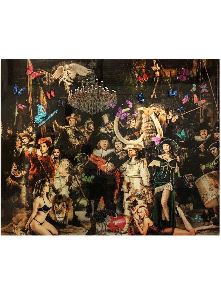 Van Apple Art Das Kunstwerk von Apple Art The Night Watch