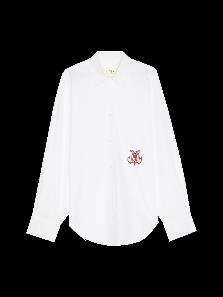 DMN Paris DMN Paris Chloe embroidery blouse white