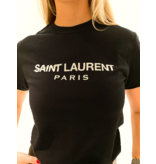 FALLON Amsterdam FALLON Amsterdam Saint Laurent T-shirt black