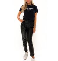 FALLON Amsterdam FALLON Amsterdam Saint Laurent T-shirt zwart