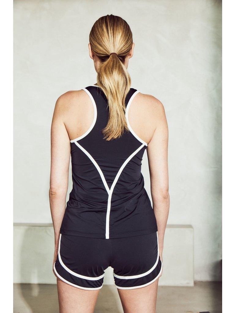 deblon sports Deblon Sports Kate top black / off-white