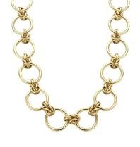 Souvenirs de Pomme Souvenirs de Pomme Rounds große Kette Halskette Gold