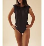 Body by Olcay Body By Olcay Padded shirt body zwart