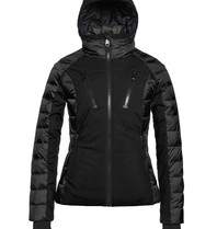 Goldbergh Goldbergh Fosfor ski jacket with hood black