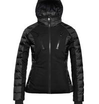 Goldbergh Goldbergh Fosfor ski jas met capuchon zwart