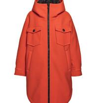 Goldbergh Goldbergh Shelter oversized jas oranje