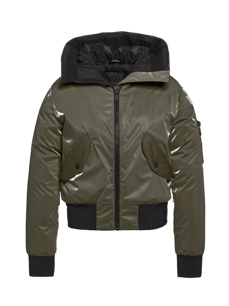 Goldbergh Goldbergh Bomba shiny ski jacket green