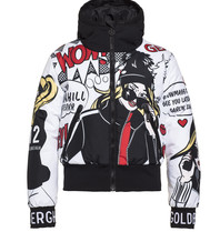 Goldbergh Goldbergh Wow ski jacket with pop-art print multicolor