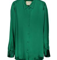 DMN Paris DMN Paris Chloe silk blouse green